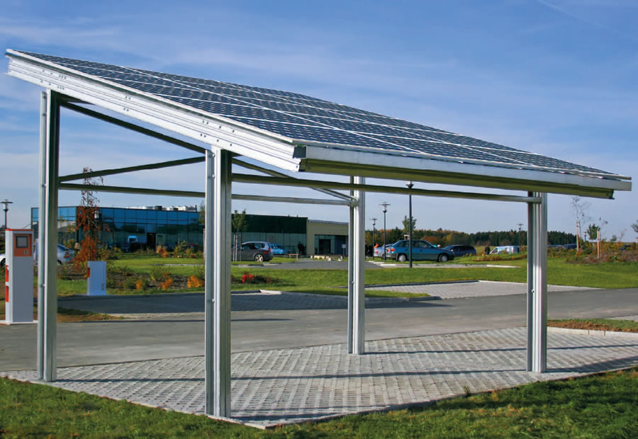 Solarcarport Basic