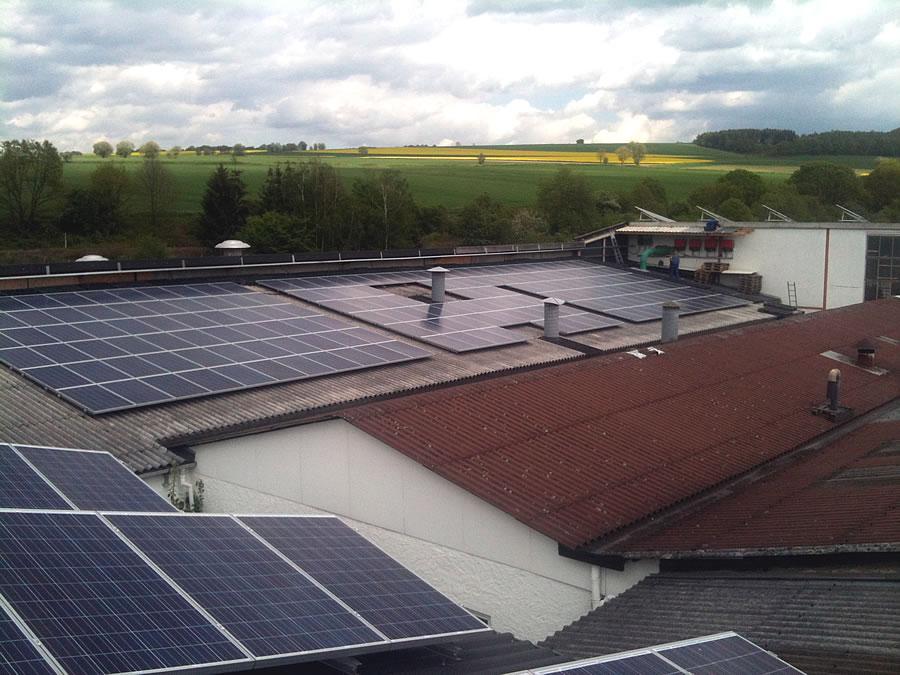 Photovoltaik-Anlage Solarteam Beverungen Lauenförde